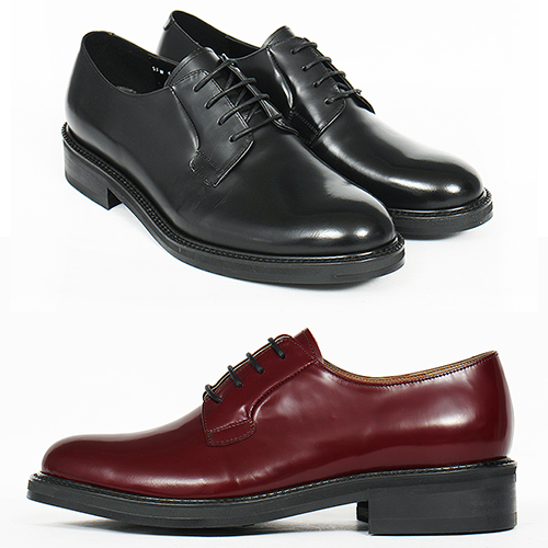 Handmade Classic Round Toe Formal Oxford Leather Shoes 5502