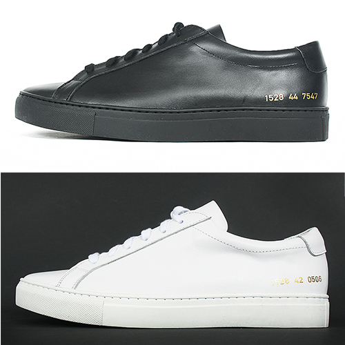 Leather Round Toe Lace Up Low Top Sneakers 1528