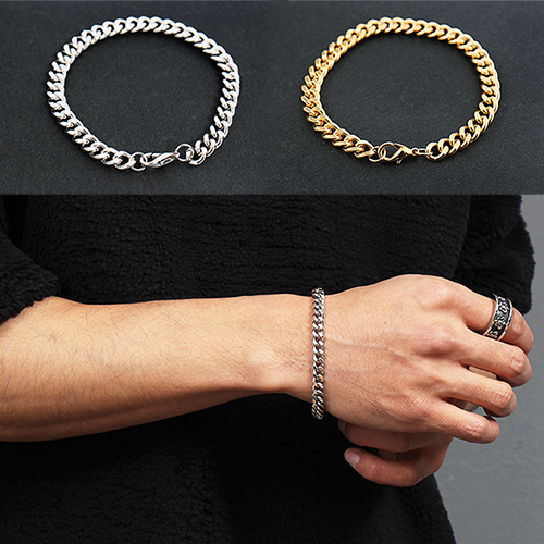 Gold Silver Plating Chain Bracelet 200