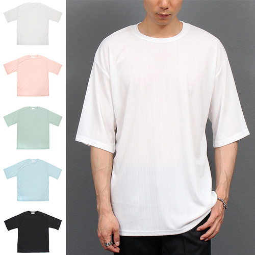 Loose Fit Half 3/4 Sleeve T Shirt