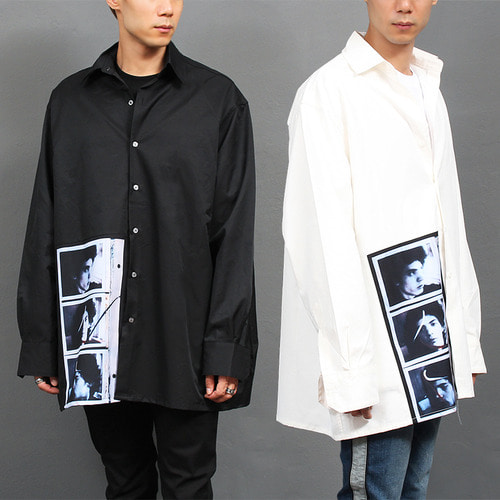 Big Over Loose Fit Graphic Printing Boxy Shirt