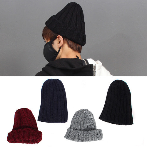 4 Color Cable Knit Beanie