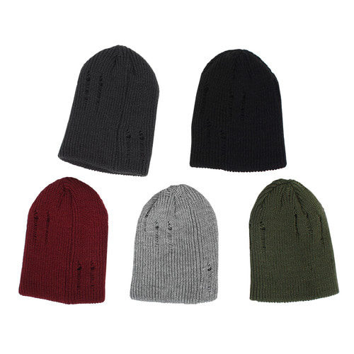 5 Color Vintage Knit Beanie