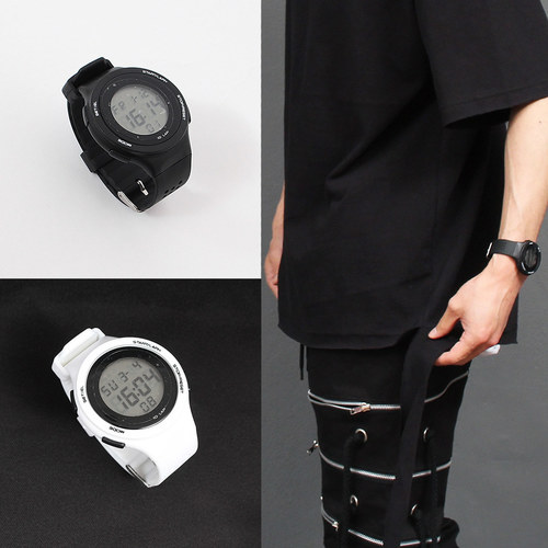 Rubber Strap Watch