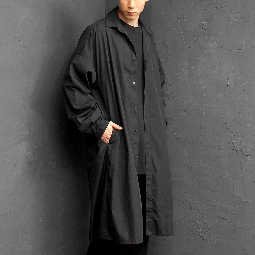 Avantgarde Oversized Wide Long Shirt Jacket 083