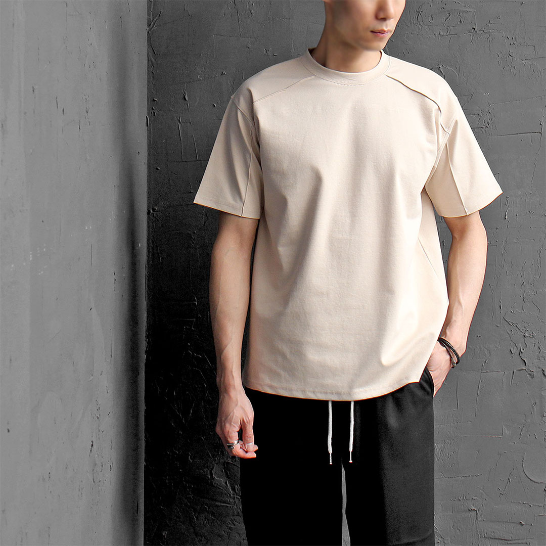 Seaming Line Cool Short Sleeve Tee 350