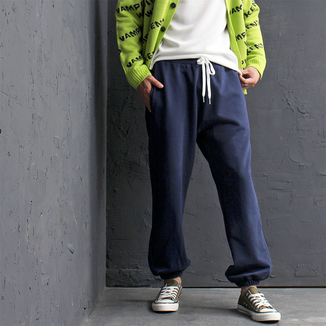 Loose Fit Elastic Hem Jogger Sweatpants 536