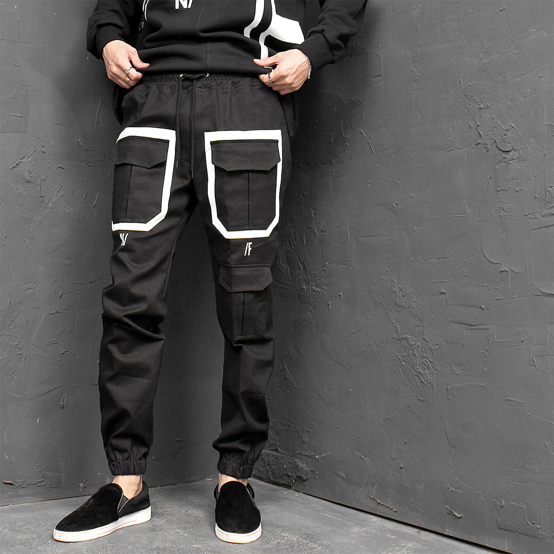 Flap Cargo Pocket Joggers 646