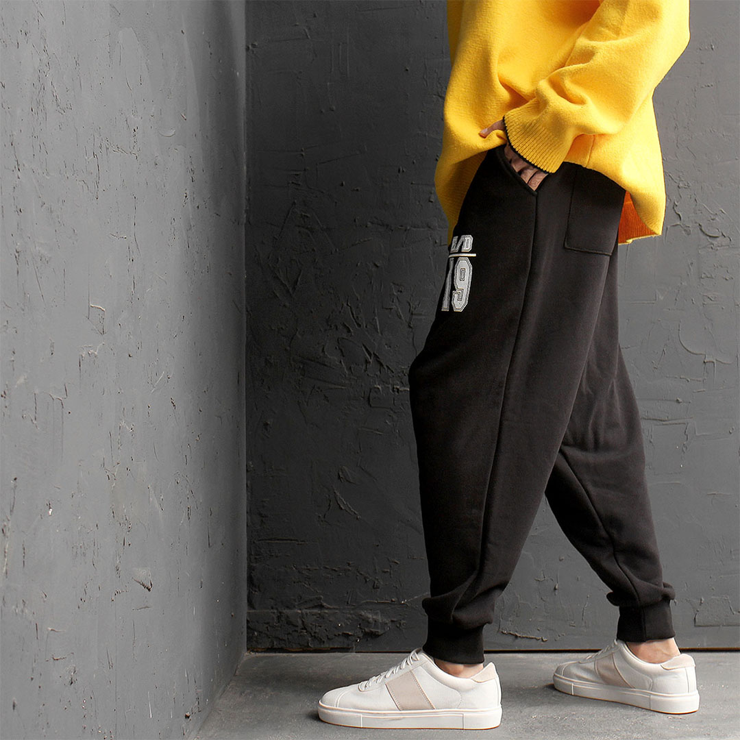 Wide Loose Fit Drop Crotch Baggy Jogger Pants 629