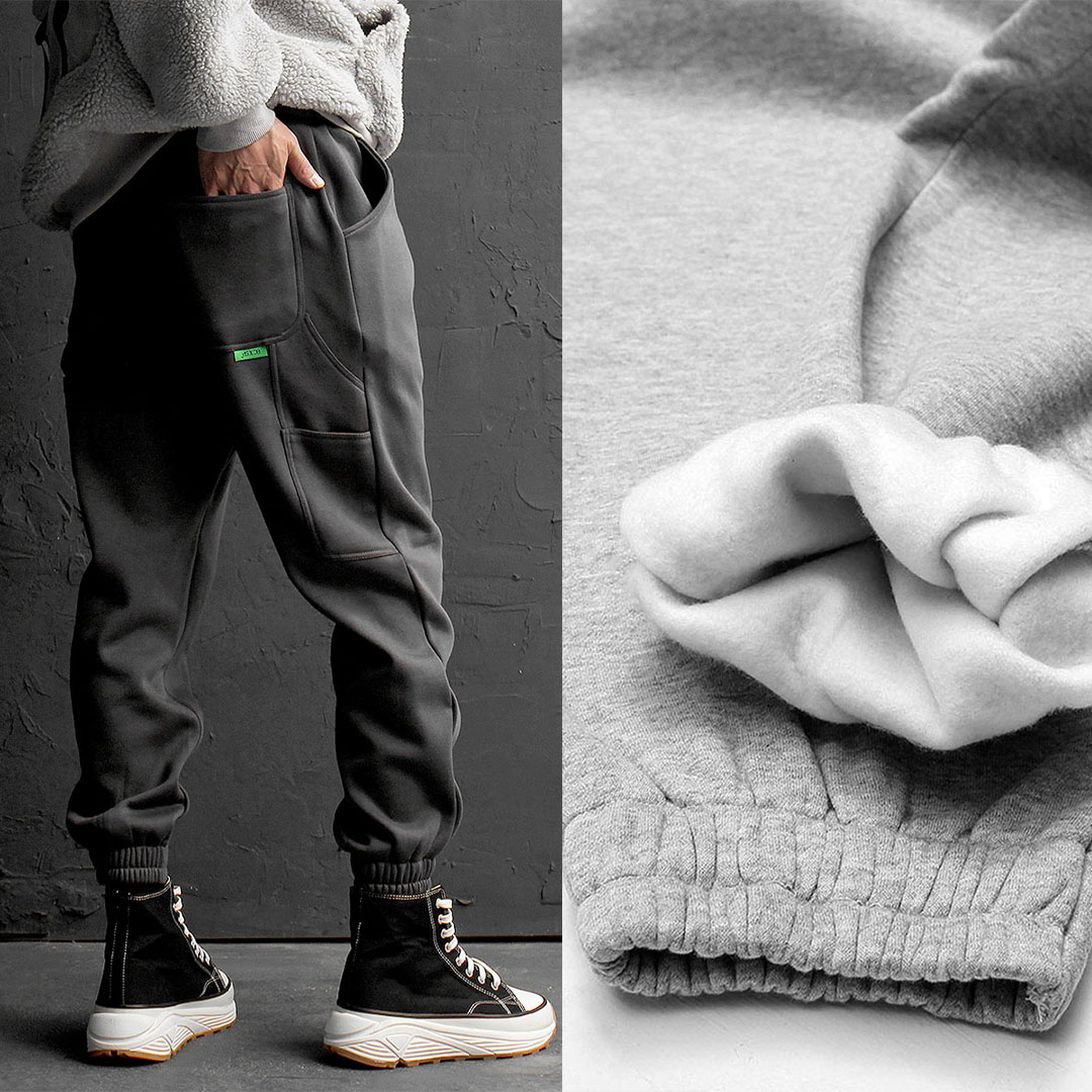 Back Down Pocket Gym Wear Jogger Pants 756
