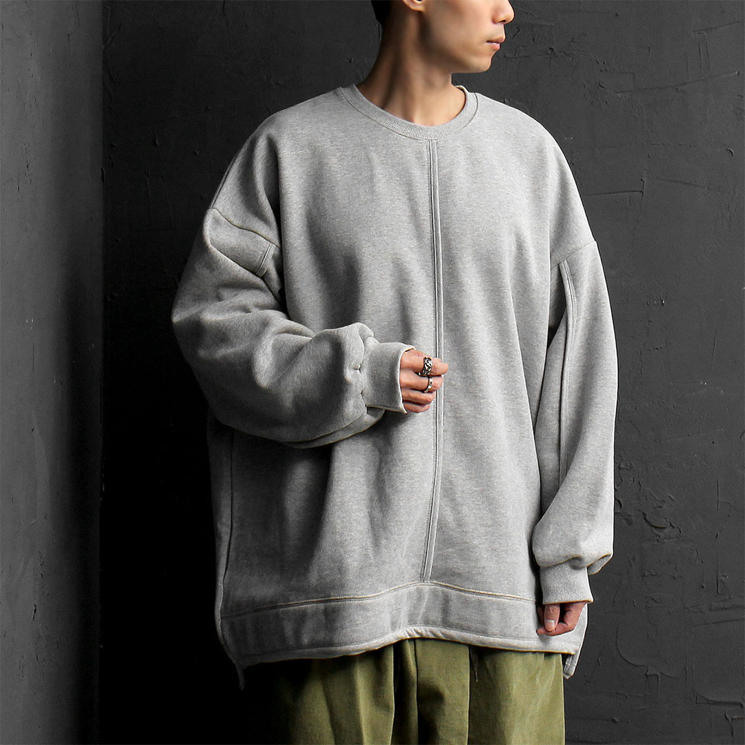 Oversized Unbalanced Hem Sweatshirt 759
