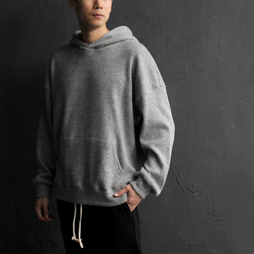 Oversized Loose Fit Fleece Hoodie 817