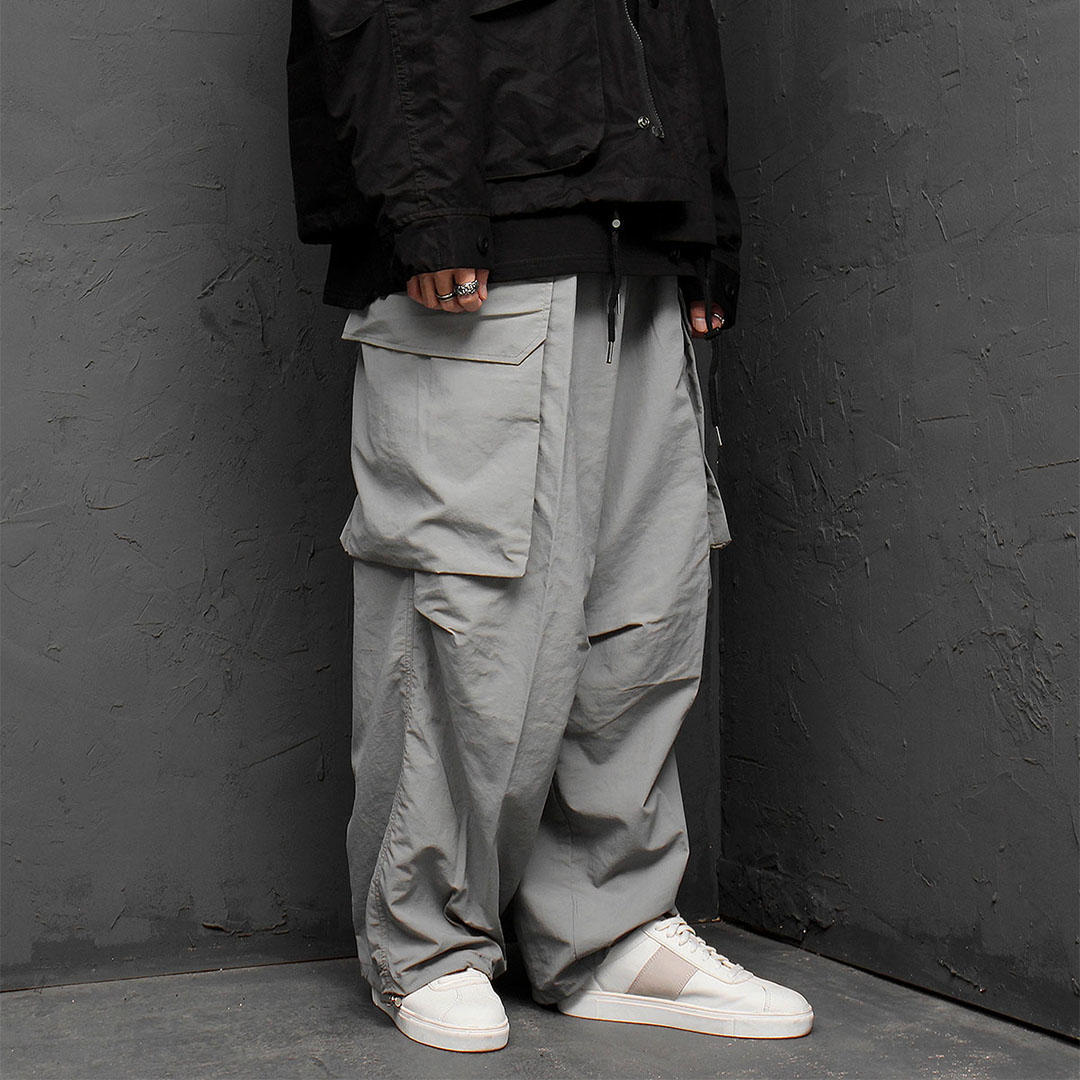 Oversized Big Cargo Pocket Balloon Pants 874