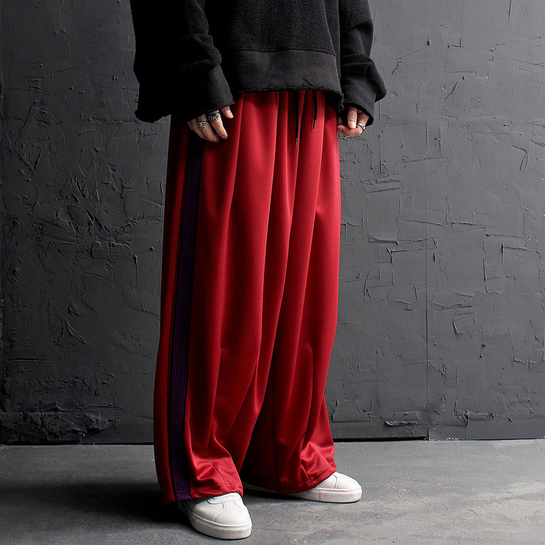 Over-sized Wide Balloon Track Pants 888