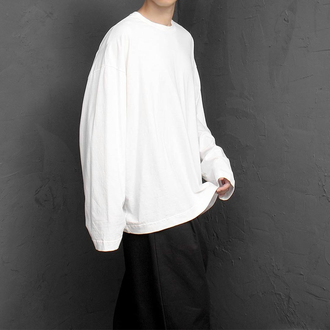 High Quality Cotton Oversized Loose Fit Tee 1343