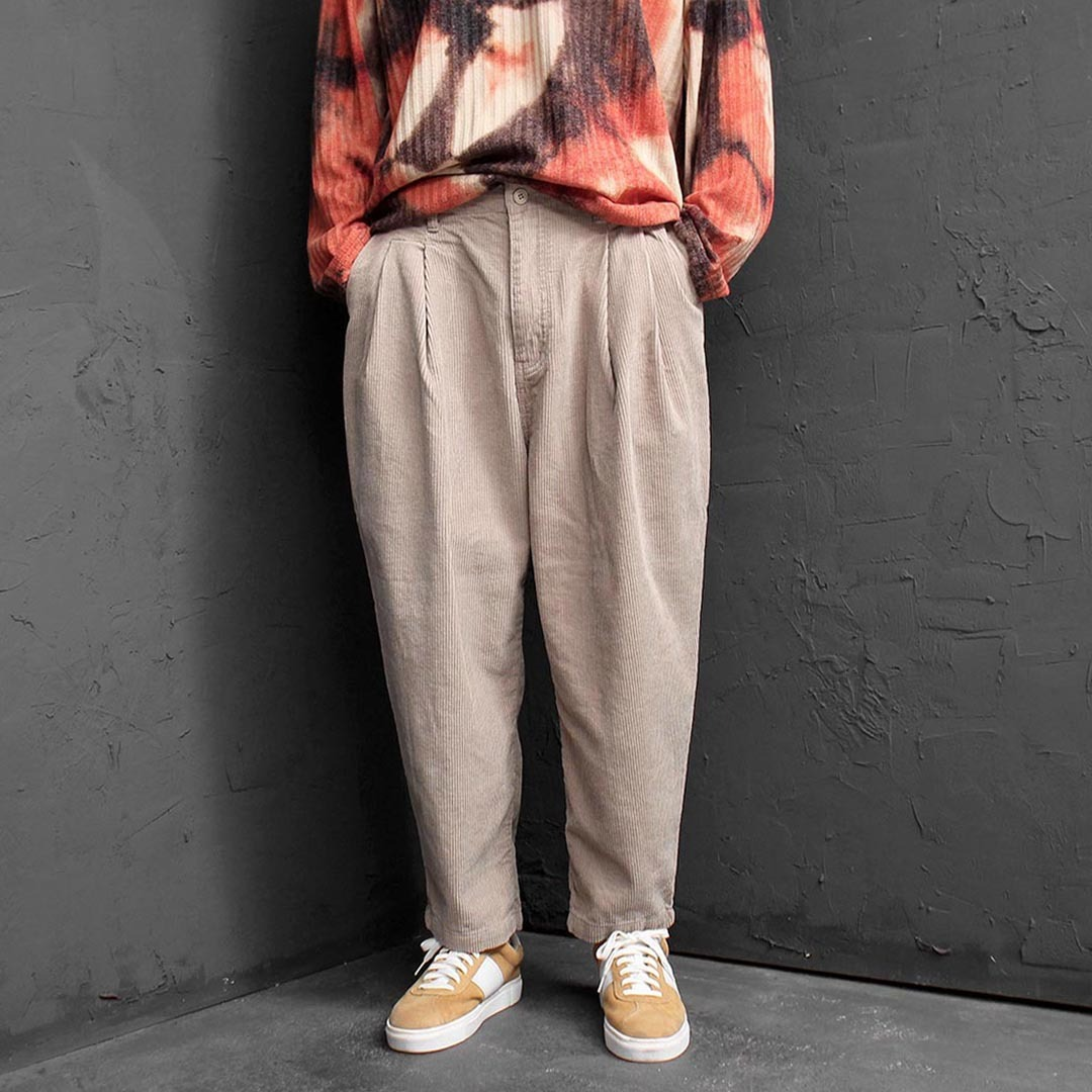 Oversized Loose Fit Corduroy Baggy Pants 1585