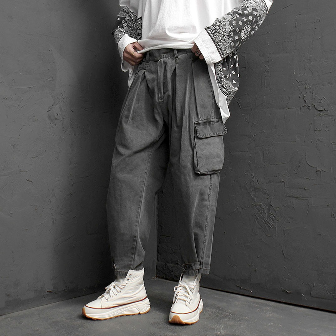 Vintage Baggy Cargo Pants 1766