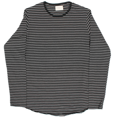 Street Fashion Loose Fit Striped Long Sleeve Tee