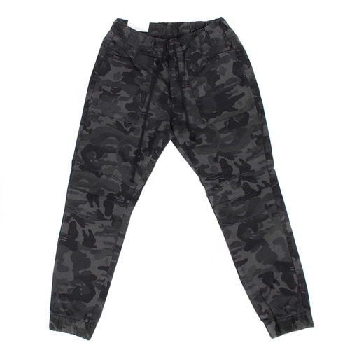 Military Camouflage Waistband Slim Jogger Pants 1071