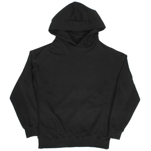 Loose Fit Split Side Back Pocket Boxy Hoodie
