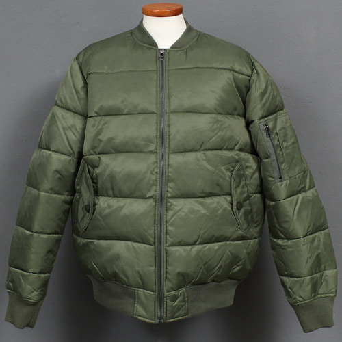 Loose Fit Cotton Insulation Puffa Bluson Jacket