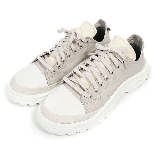 Treded Rubber Sole Lace Up Runner Sneakers 117