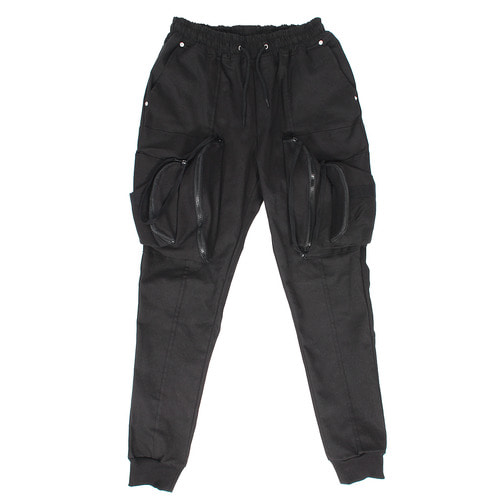Double Zipper Big Cargo Pocket Joggers 024