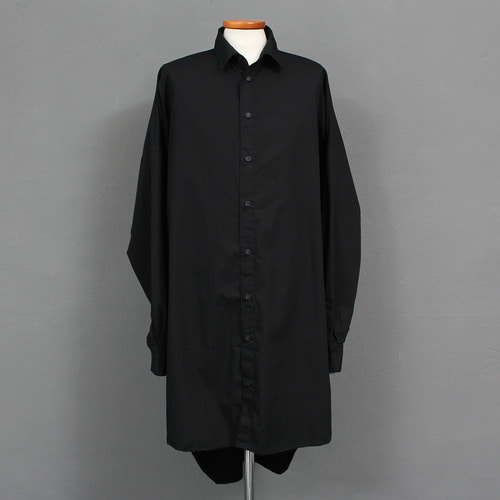 Oversized Big Boxy Long Shirt 008