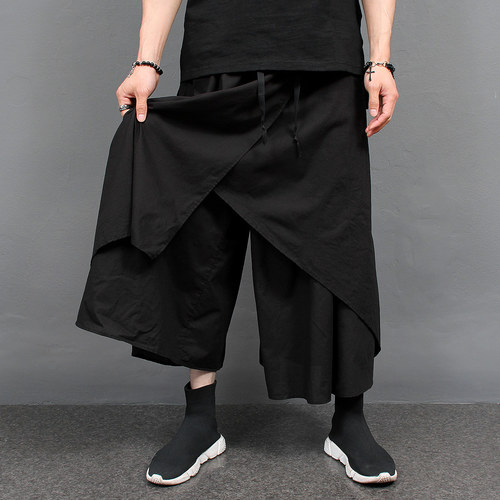 Avant garde Super Wide Layered Sweatpants 074
