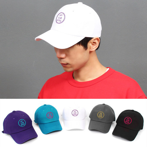 ART Club Seoul Logo Stitch Baseball Cap