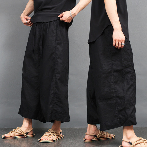 Avant garde Over Drop Crotch Harem Baggy Pants 004
