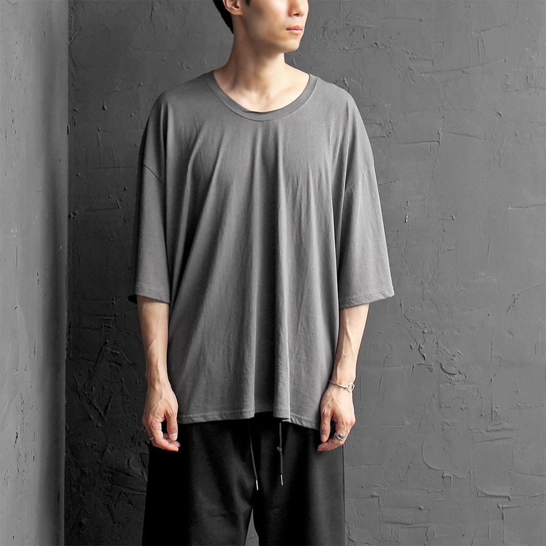 Oversized Draped Short Sleeve Tee 389