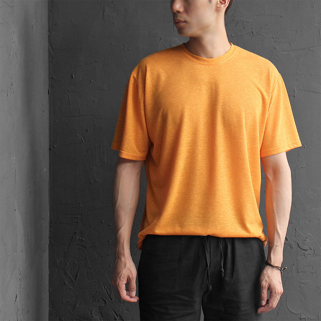 Color Linen Short Sleeve Tee 514