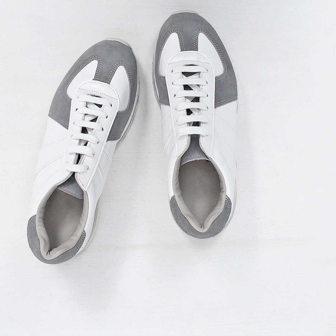 Combi Leather Air Cushion Sneakers 688