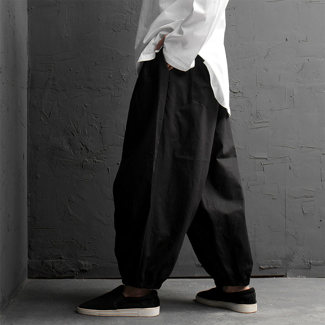 Oversized Wide Balloon Baggy Pants 853