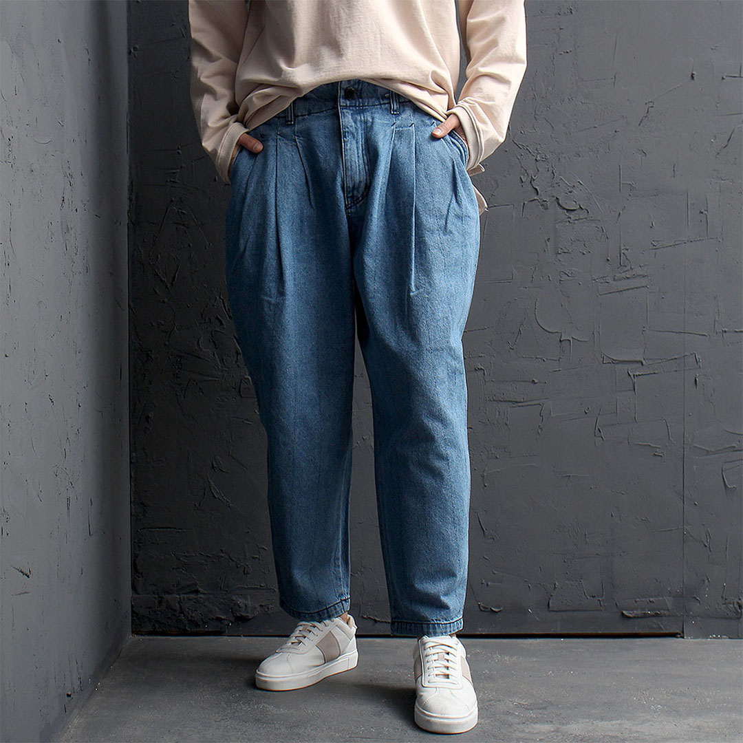 Oversized Loose Fit Denim Baggy Pants 876