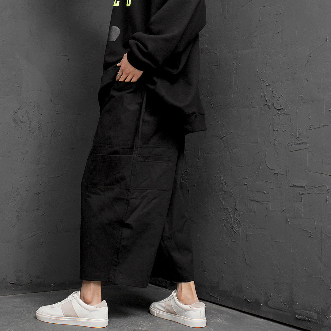 Oversized 8 Pocket Wide Baggy Pants 895