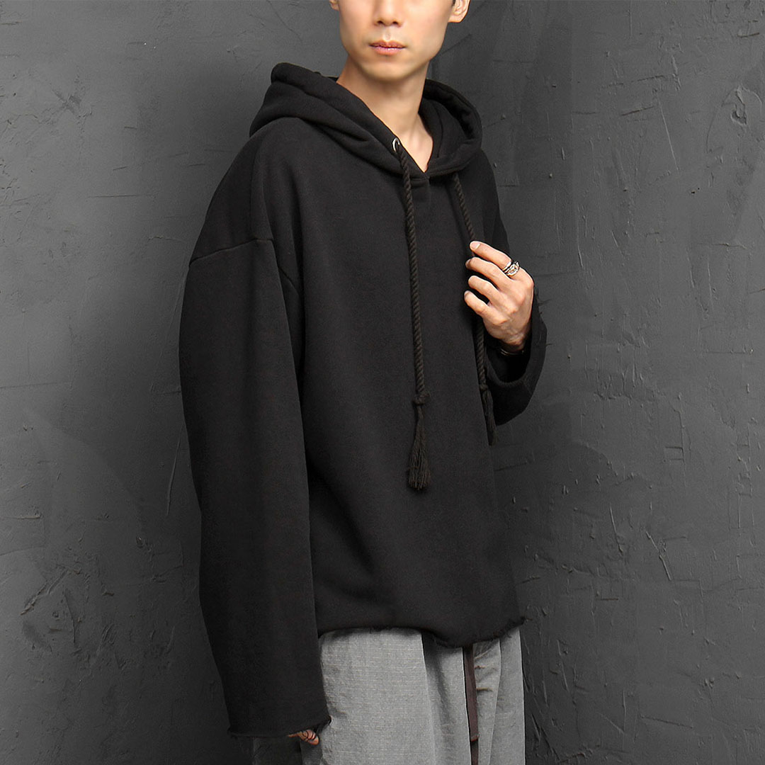 Oversized Vintage Washed Hoodie 932