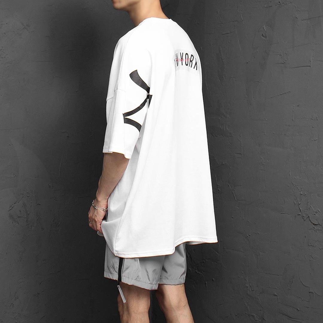 Oversized Fit New York Short Sleeve Tee 1310