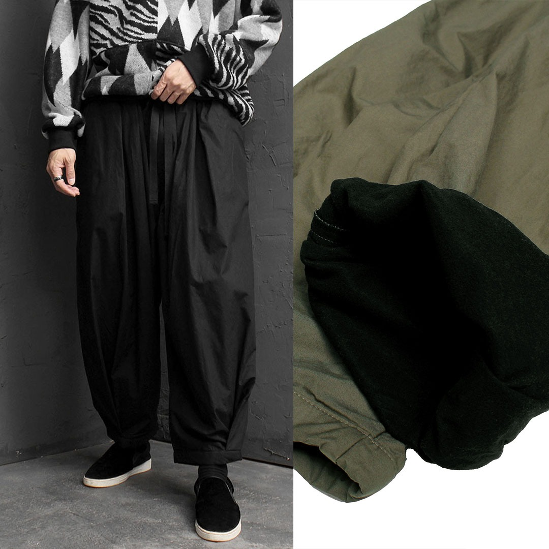 Wide Pleated Baggy Balloon Pants 1672
